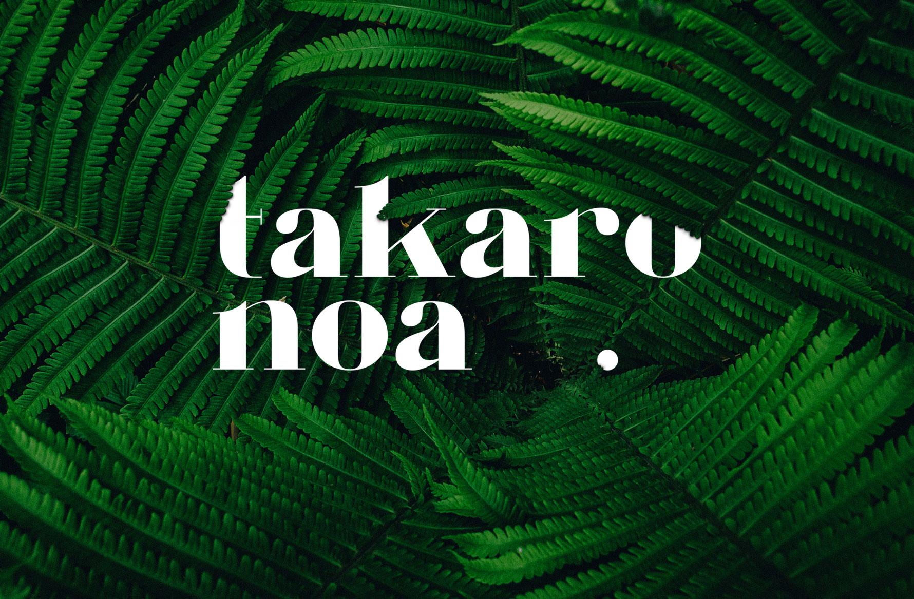 Hüfner Design | Referenz takaro noa | Logo Design