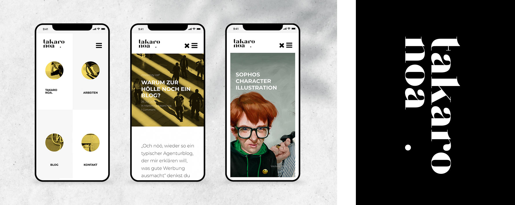 Hüfner Design | Referenz takaro noa | Responsive Webdesign