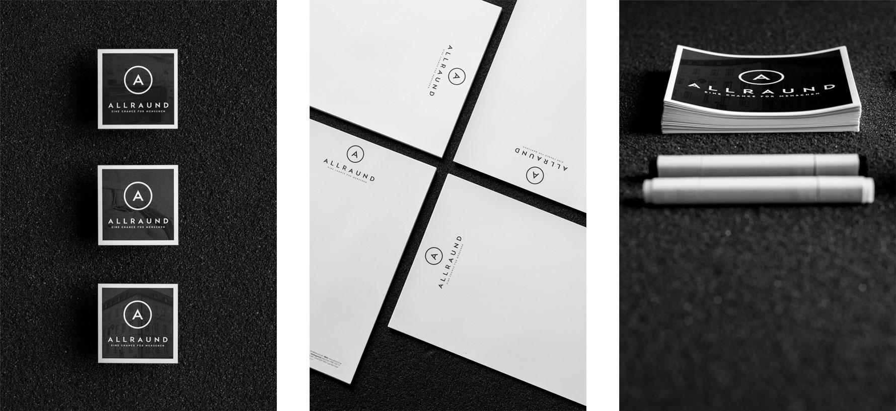 Hüfner Design | Referenz AllrAUnd gGmbH | Corporate Identity