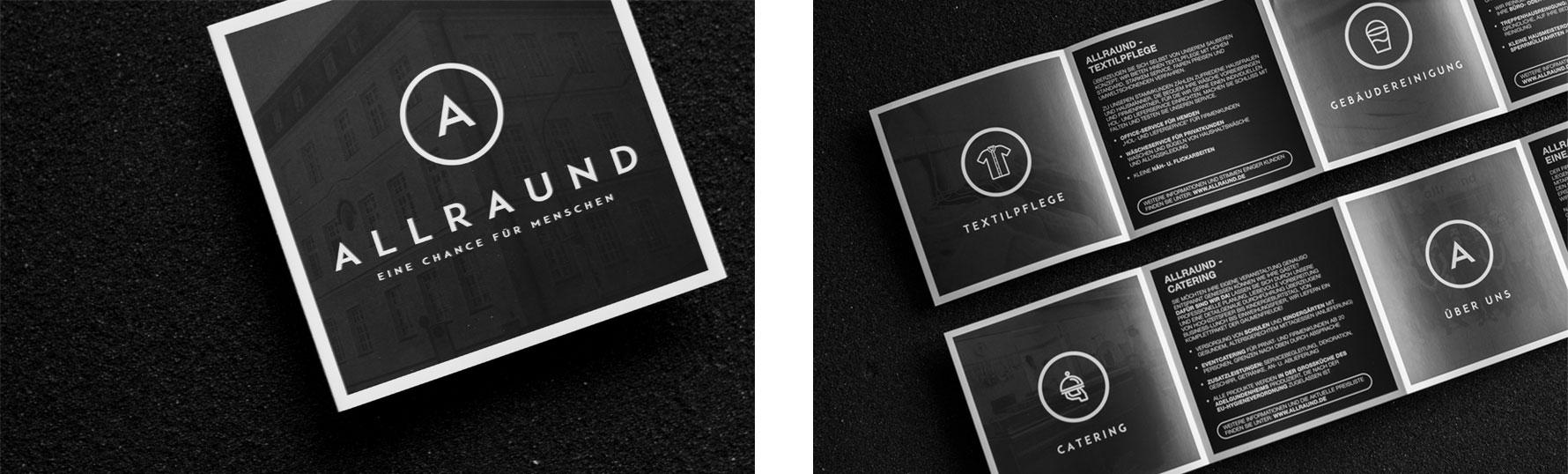 Hüfner Design | Referenz AllrAUnd gGmbH | Corporate Design