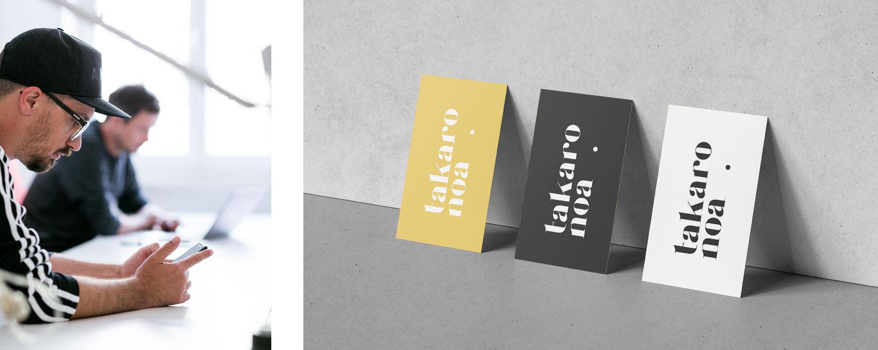 Hüfner Design | Referenz takaro noa | Corporate Design