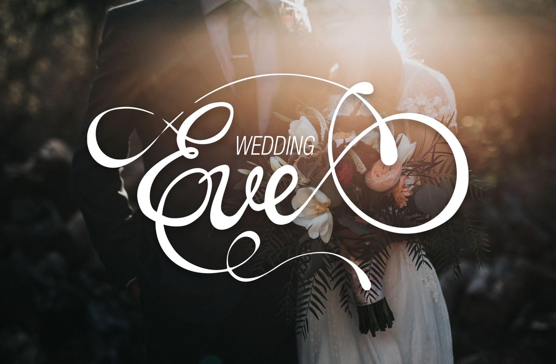 Hüfner Design | Referenz WeddingEve | Corporate Identity | Logo