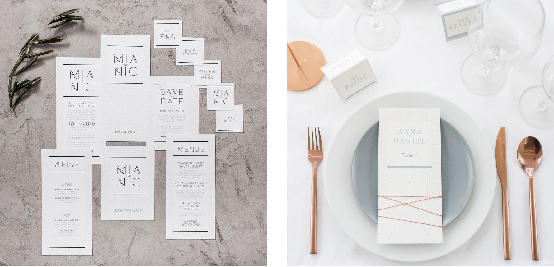 Hüfner Design | Referenz WeddingEve | Corporate Identity | Papeterie