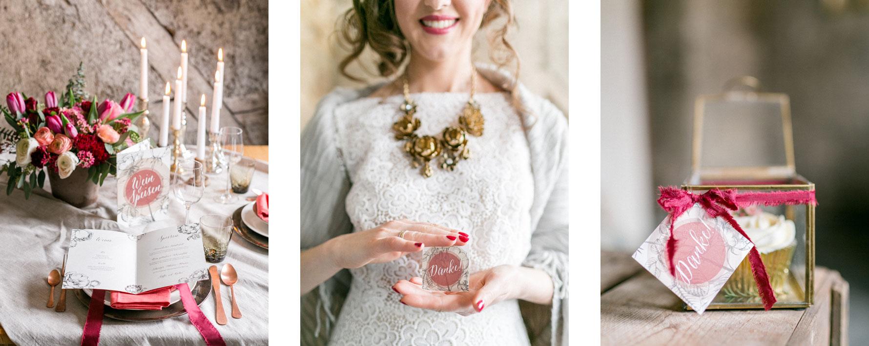 Hüfner Design | Referenz WeddingEve | Corporate Identity | Styled Shoot