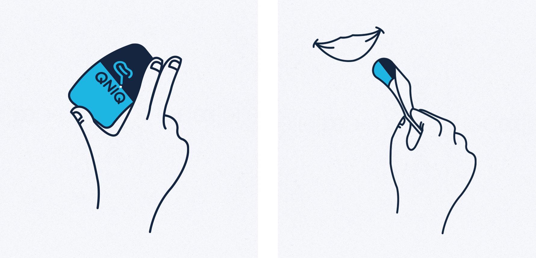 Hüfner Design | Referenz QNIQ | Illustration