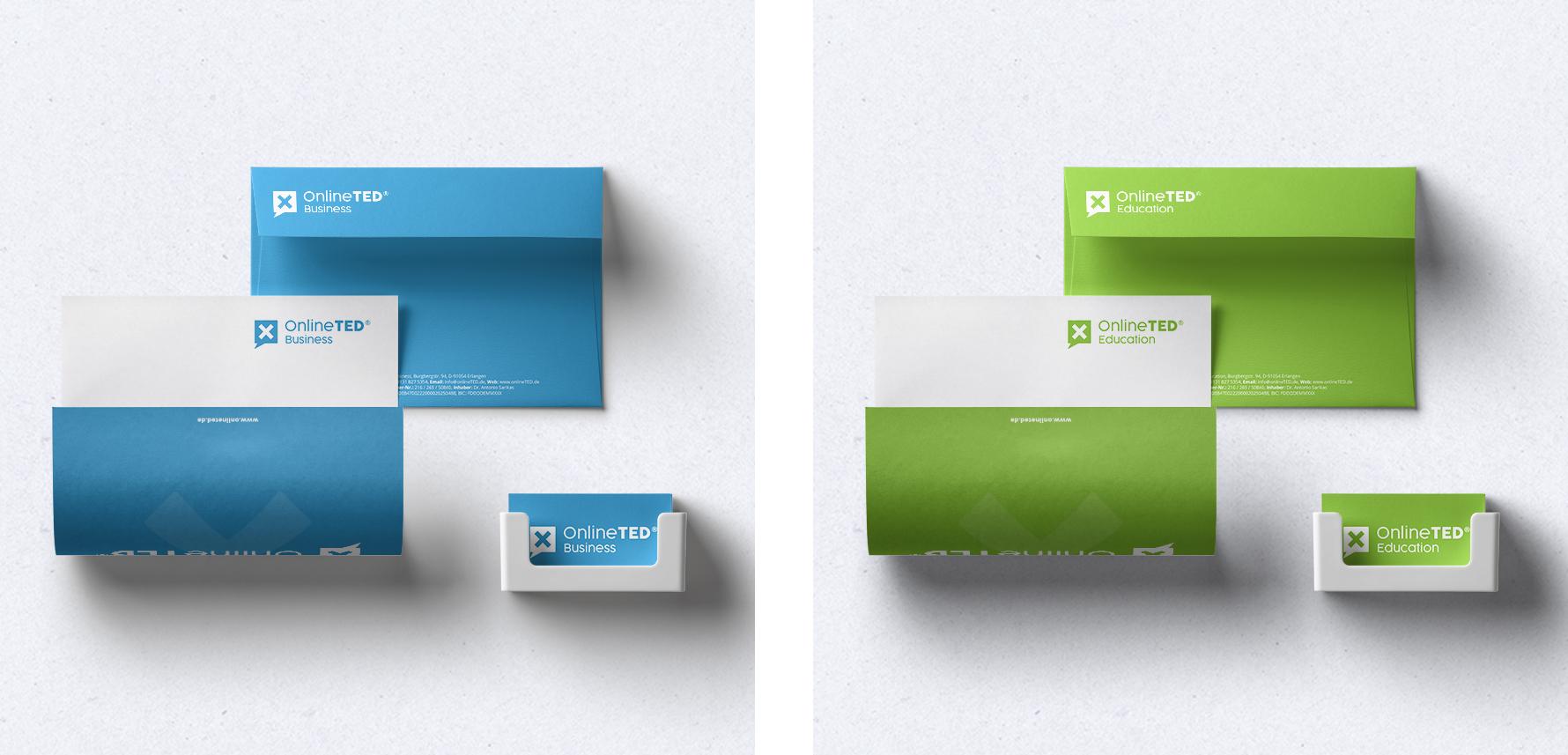 Hüfner Design | Referenz OnlineTED | Stationary